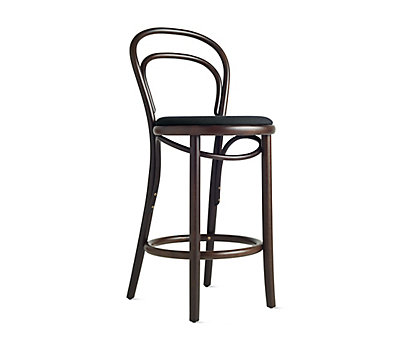 Era Counter Stool with Upholstered Seat