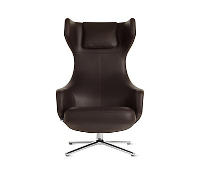 Grand Repos Lounge Chair and Ottoman