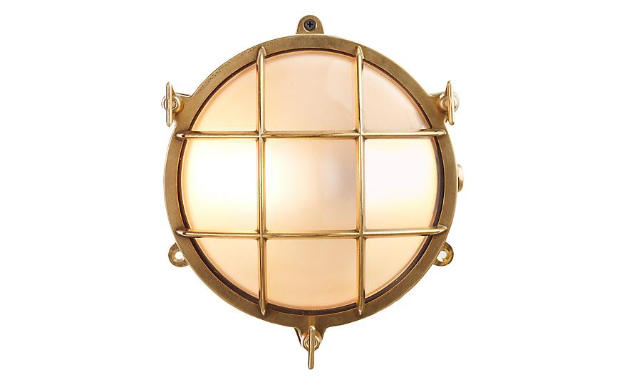 Round Bulkhead Light Design Within Reach