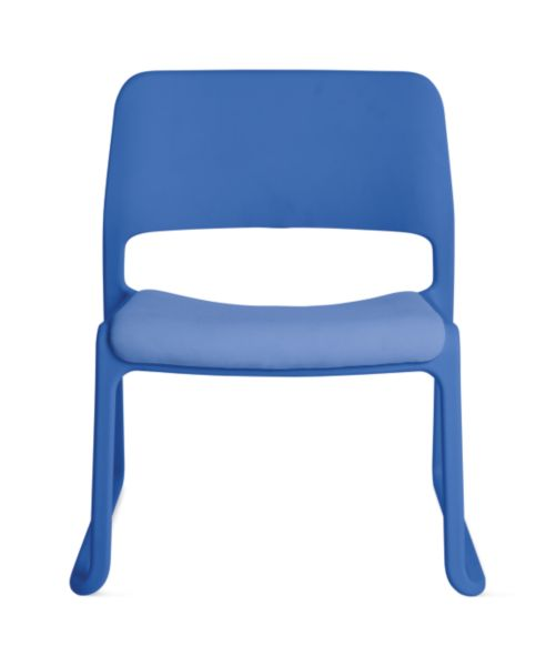 Lounge Chair Seat Pad Blue