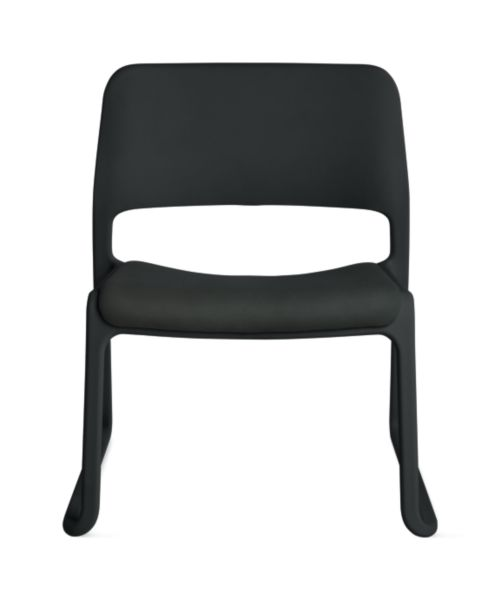 Lounge Chair Seat Pad Black