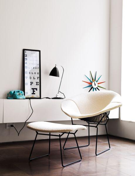 Superbe Bertoia Diamond Lounge Chair ...