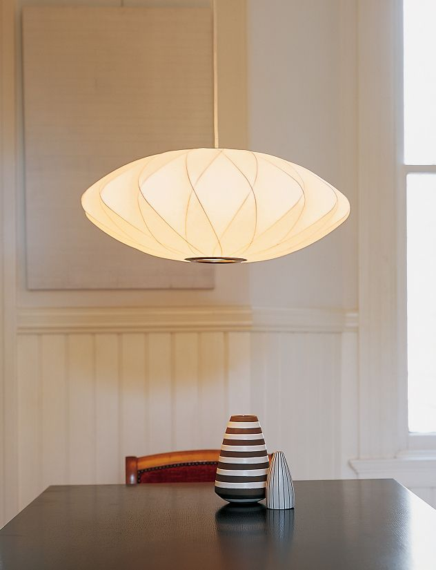 Nelson Crisscross Saucer Pendant Lamp