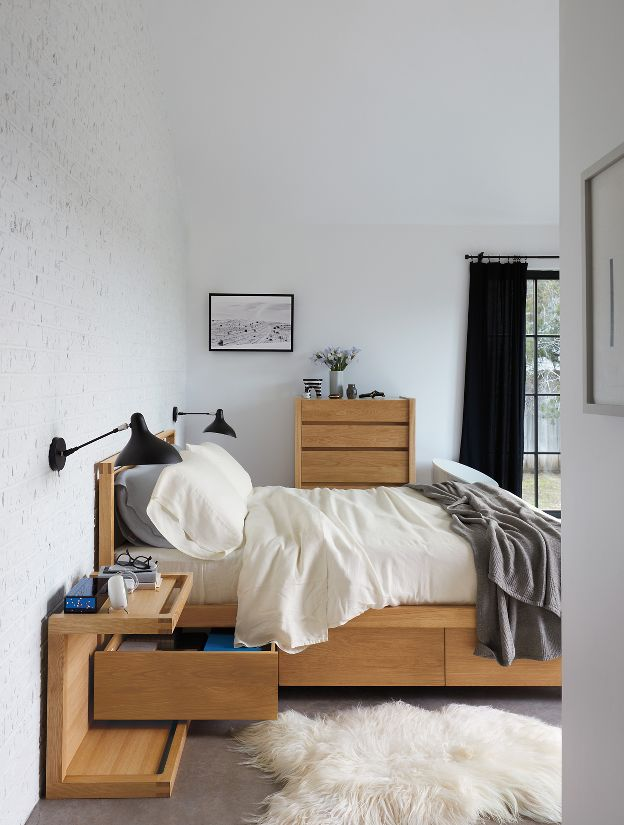 Matera Bed With Storage Design Within Reach