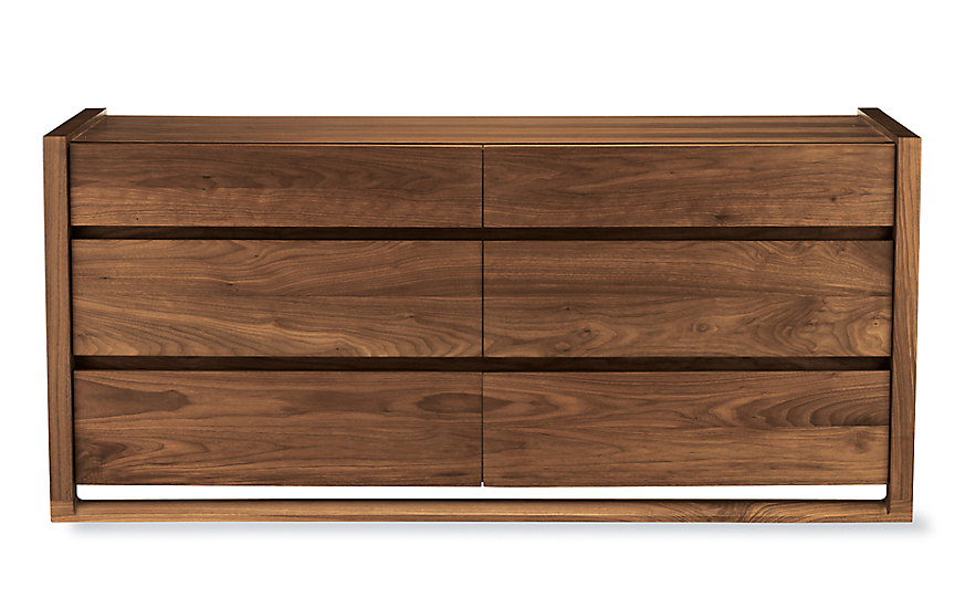 Matera Six Drawer Dresser Design