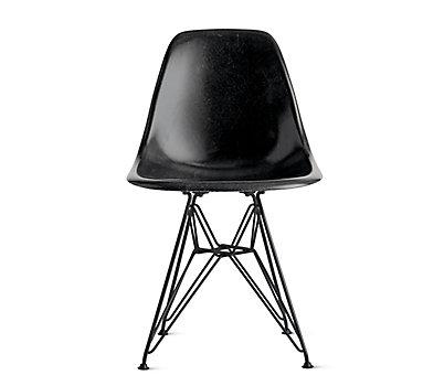 eames molded fiberglass armchair dowel base herman miller. Black Bedroom Furniture Sets. Home Design Ideas