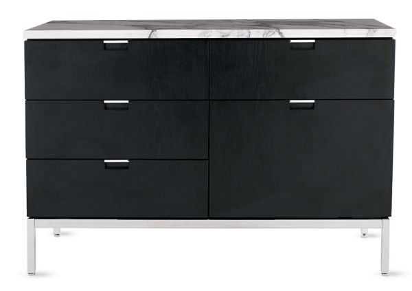 Ikea Red Credenza : Florence knoll two position credenza design within reach