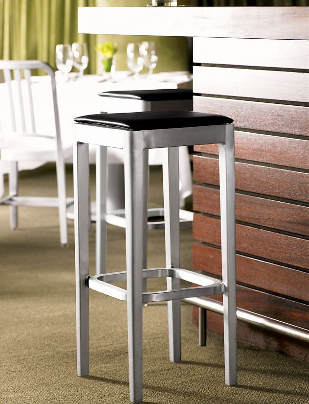 Emeco Stool Seat Pad Design Within Reach
