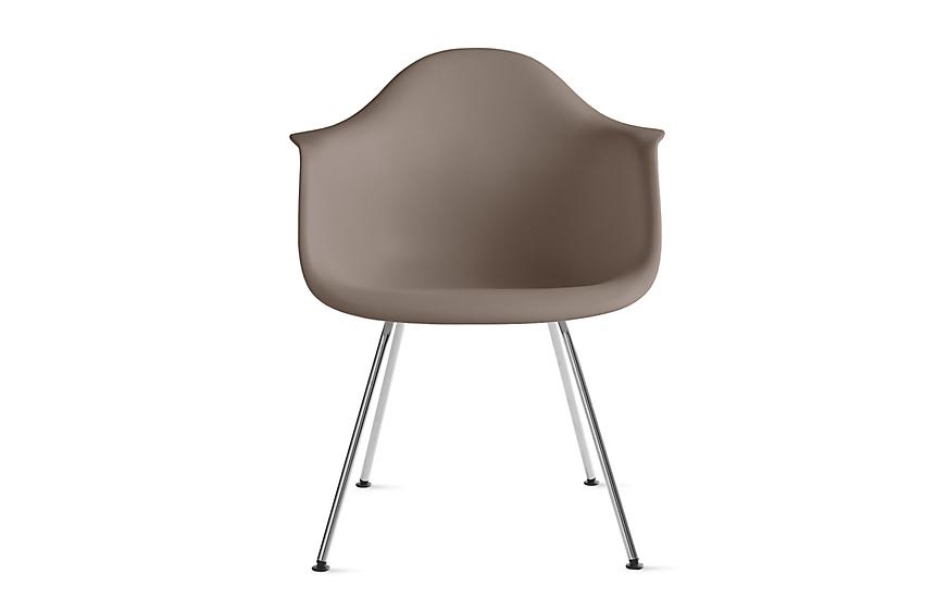 Eames Molded Plastic Armchair 4 Leg Base Herman Miller