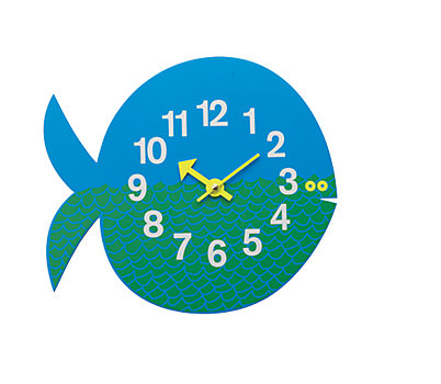 Nelson™ Fernando the Fish Wall Clock