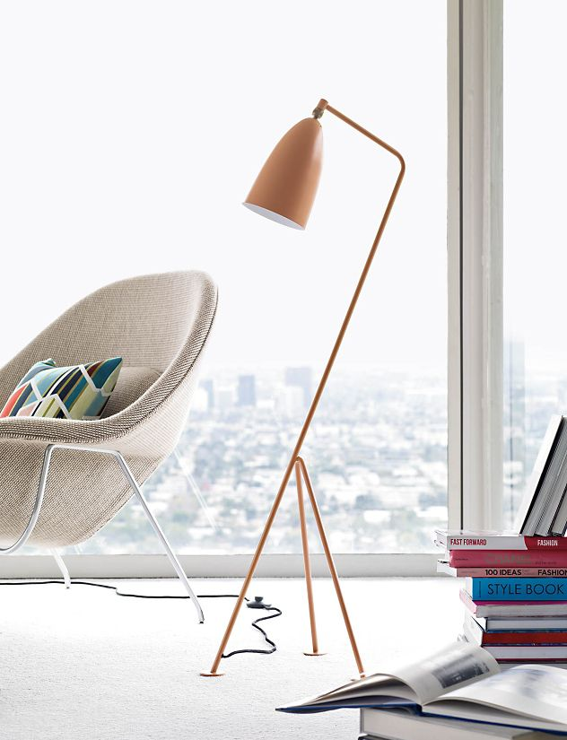 grasshopper floor lamp design within reach. Black Bedroom Furniture Sets. Home Design Ideas