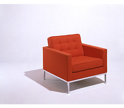 Florence Knoll Lounge Chair in Volo Leather
