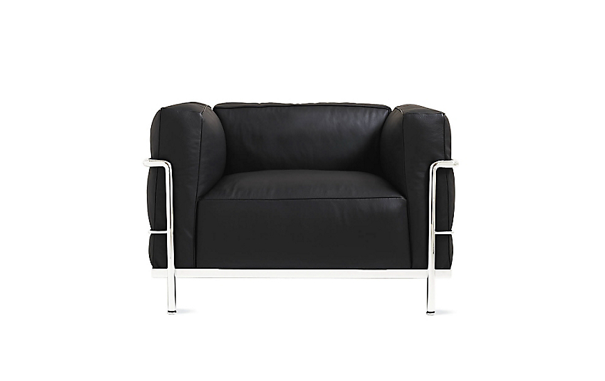 LC3 Grand Modele Armchair with Down Cushions - Design ...