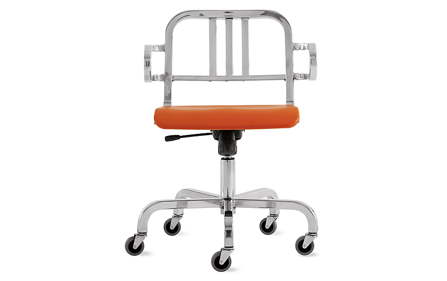 Nine-0™ Swivel Armchair - 3 Bar Back