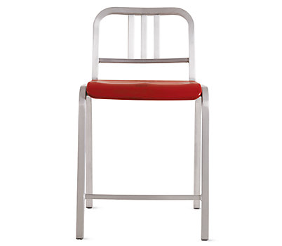 Nine-0™ Stacking Counter Stool - 3 Bar Back