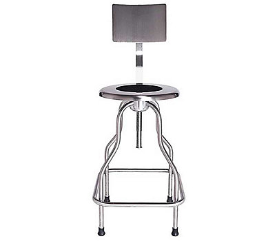 Precision Stool with Back