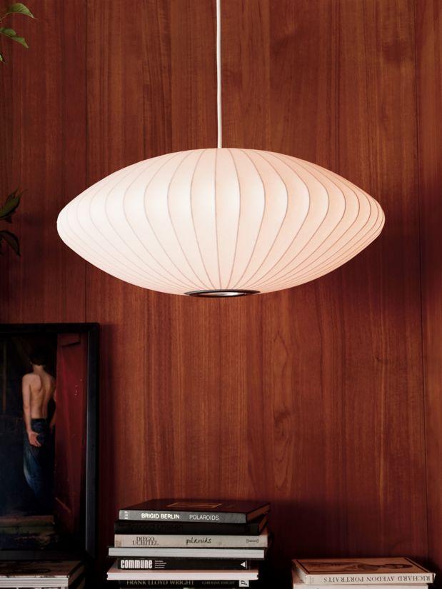 George Nelson Bubble Saucer Ceiling Light Medium George