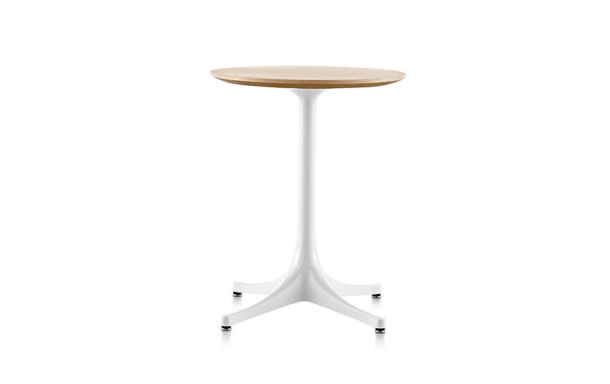 Nelson Pedestal Side Table