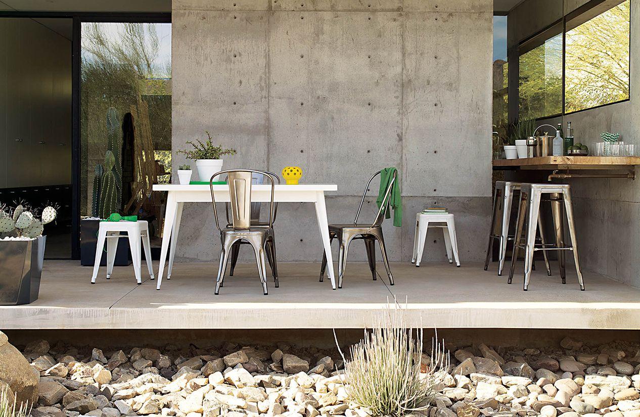 Stupendous Tolix Marais A Chair Andrewgaddart Wooden Chair Designs For Living Room Andrewgaddartcom