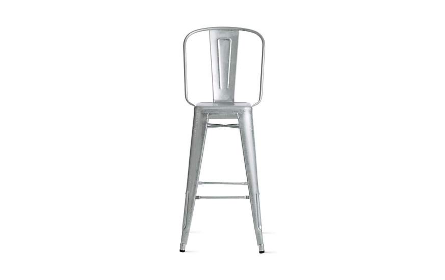 Tolix® Marais Barstool with High Back