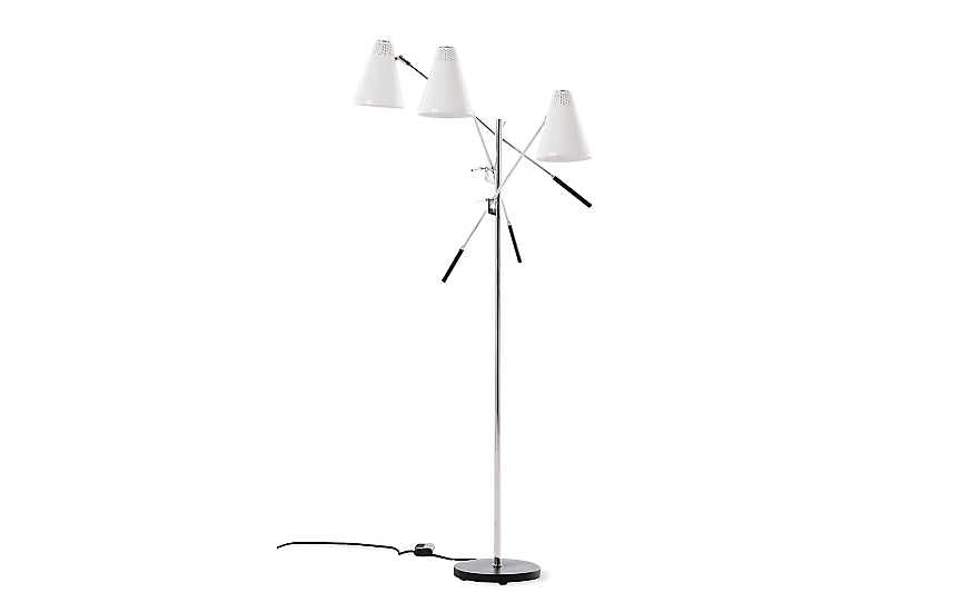 Tri-Arm Floor Lamp