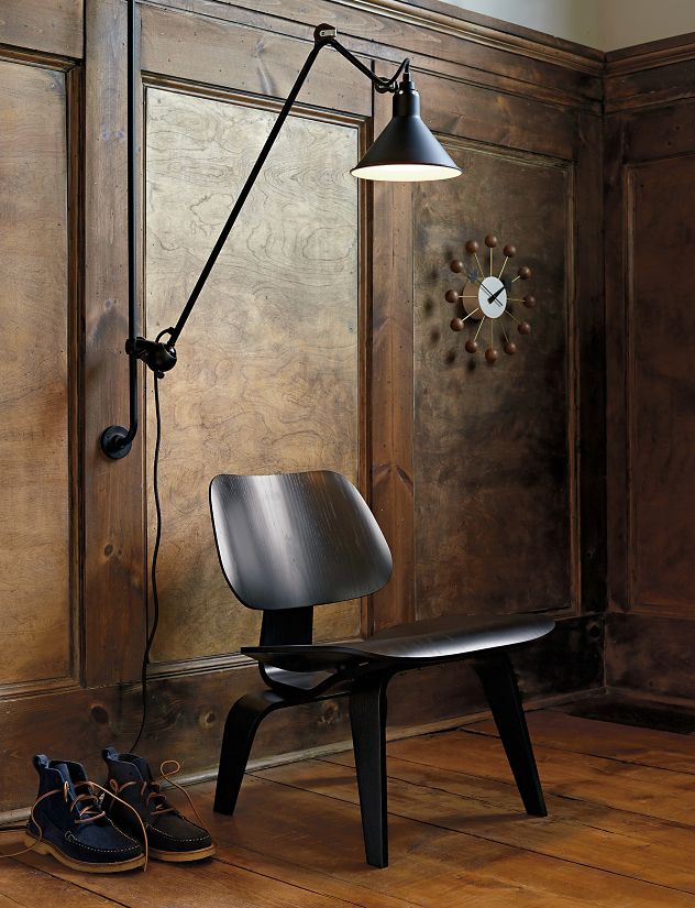 Lampe Gras Model 214 Wall Lamp