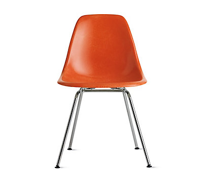 Eames® Molded Fiberglass 4-Leg Side Chair (DFSX)