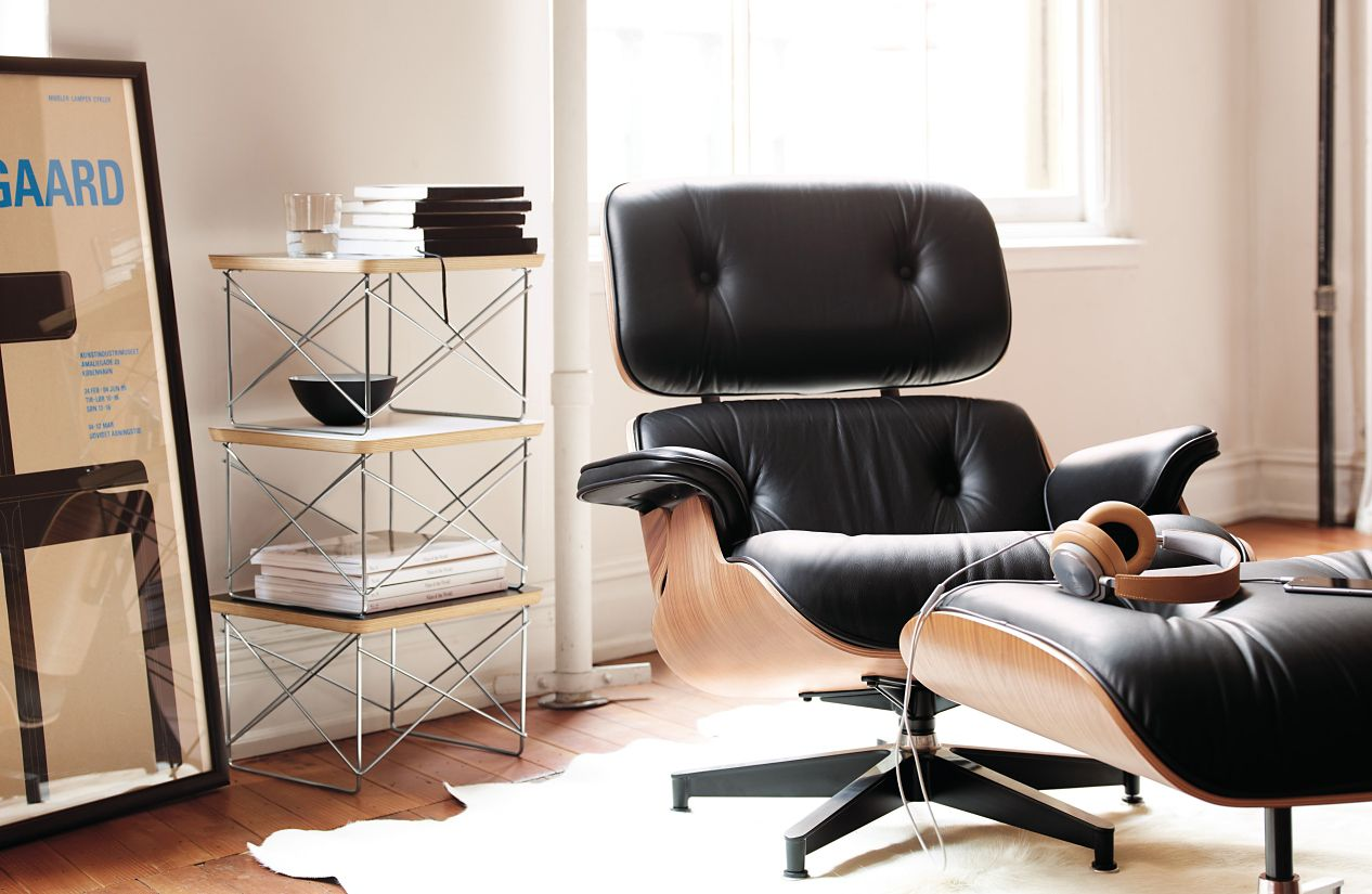 Eames 174 Tall Lounge Chair And Ottoman Design Within Reach