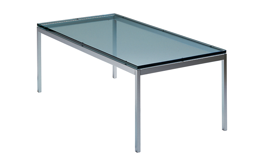 Florence Knoll Rectangular Coffee Table Design Within Reach