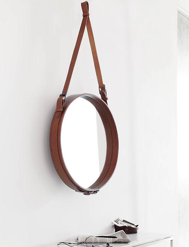 Adnet Round Mirror Design Within Reach