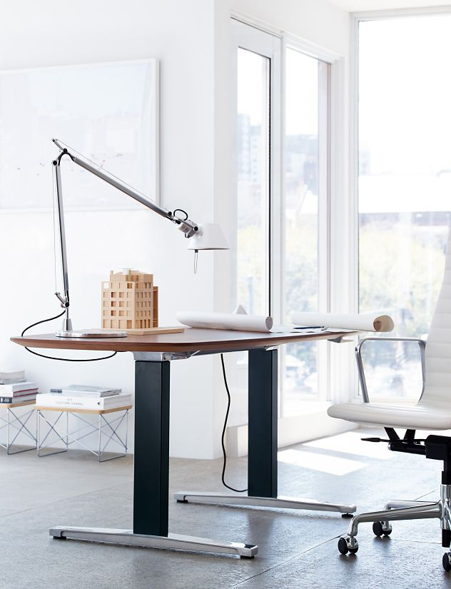 Renew Sit To Stand Table Oval Herman Miller