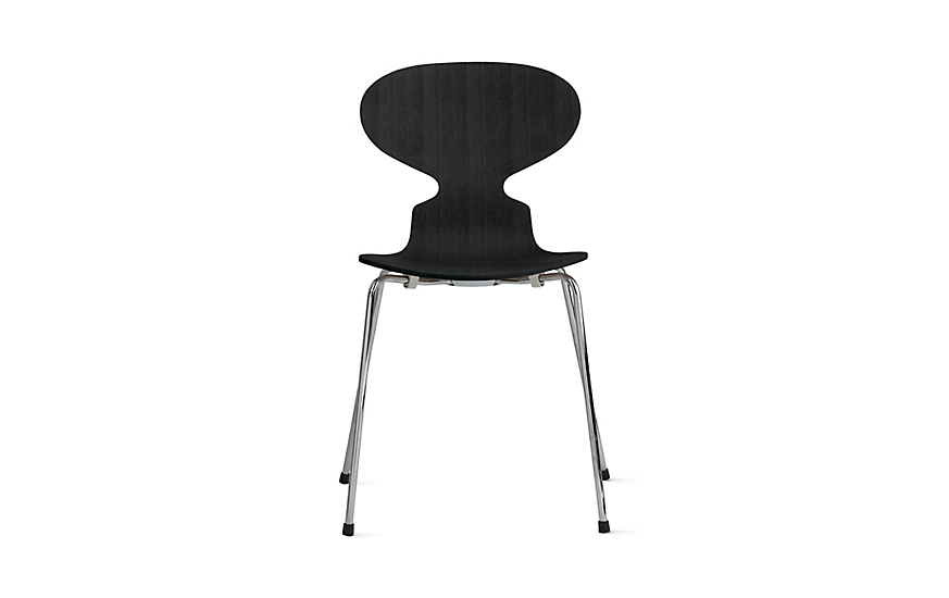 Ant™ Chair with 4 Legs in Colored Ash