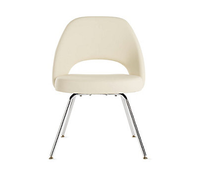 Saarinen Executive Side Chair with Metal Legs