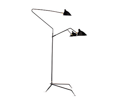 Serge Mouille Three-Arm Floor Lamp