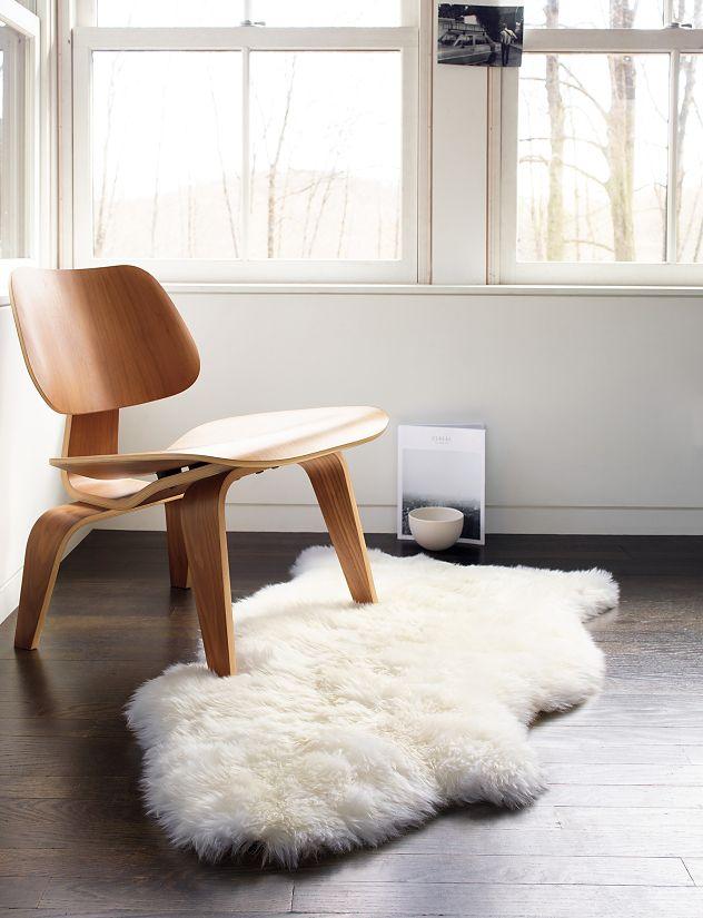 Sheepskin Throw Design Within Reach