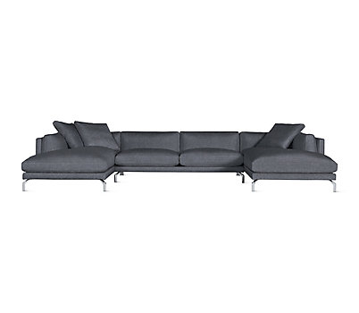Como Sectional Chaise - Design Within Reach