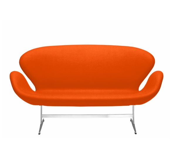Sofa Orange Fabric