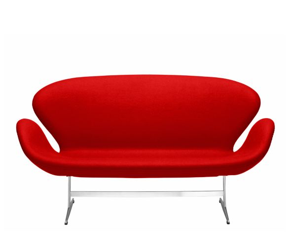 Sofa Red Fabric