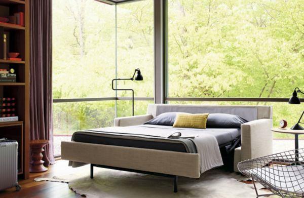 vesper queen sleeper sofa design within reach rh dwr com