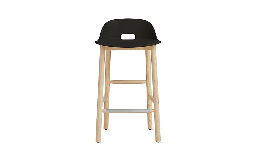Wondrous Alfi Low Back Counter Stool Machost Co Dining Chair Design Ideas Machostcouk