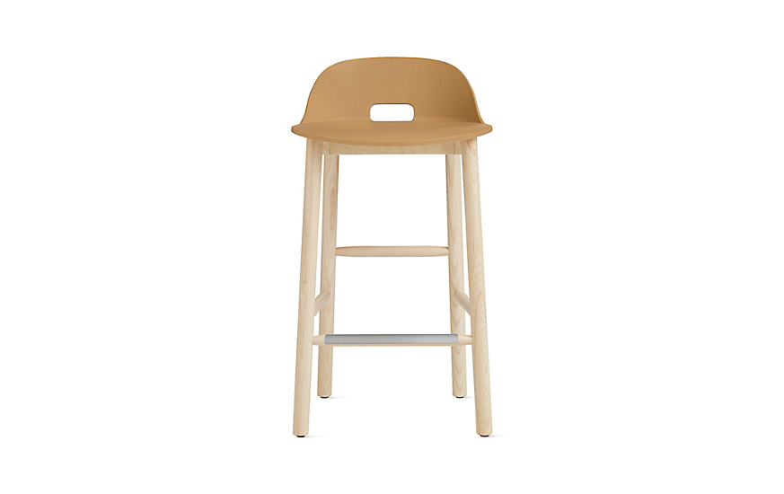 low back bar stool alfi low back counter stool design within reach 7184