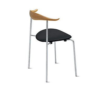 CH88 Stacking Chair, Upholstered