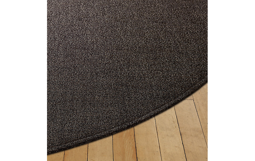 Chilewich Boucl 233 Round Floor Mat Design Within Reach