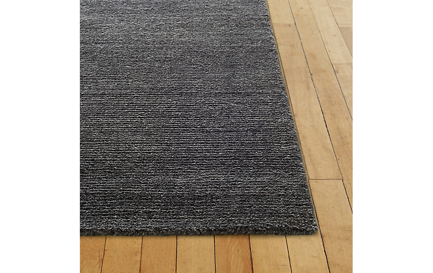 Woven Sial Rug, Charcoal, 6' x 9' at DWR Product Image