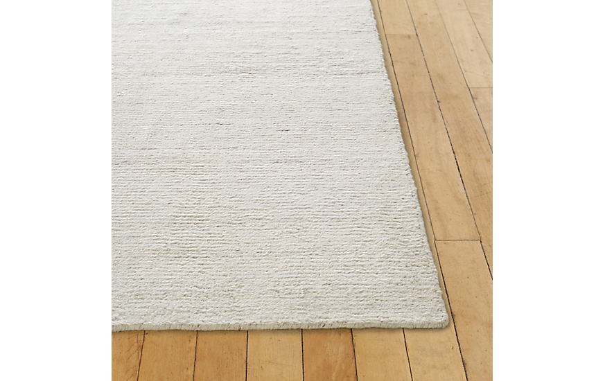 Woven Sial Rug, White, 8' x 10' at DWR Product Image