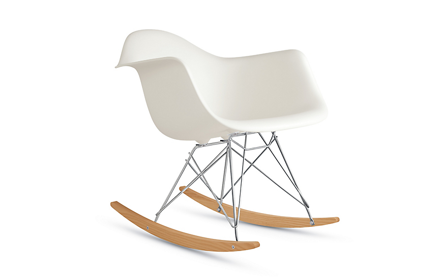 Terrific Eames Molded Plastic Rocker Rar Gmtry Best Dining Table And Chair Ideas Images Gmtryco