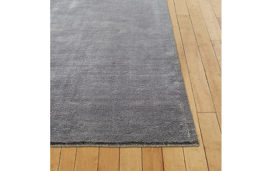 Natura Rug, Charcoal, 6' x 9' by Design Within Reach Product Image