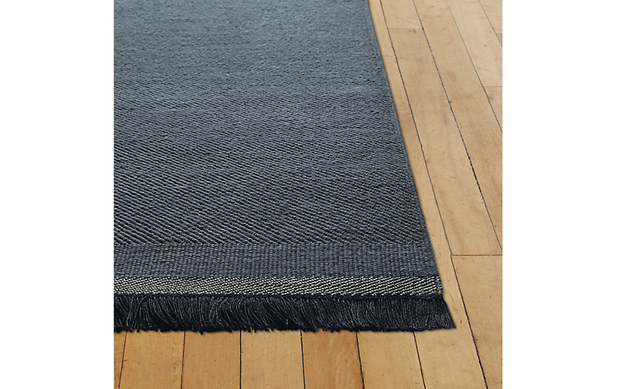 Mattia Rug, Blue, 9' x 12' by Design Within Reach Product Image