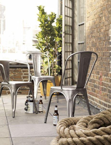 Outdoor Tolix Chair Design Ideas & Outdoor Tolix Chairs - Outdoor Ideas