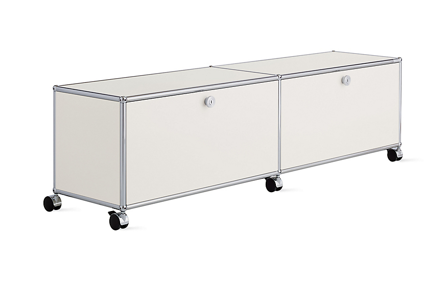 USM Haller Media Console with Casters